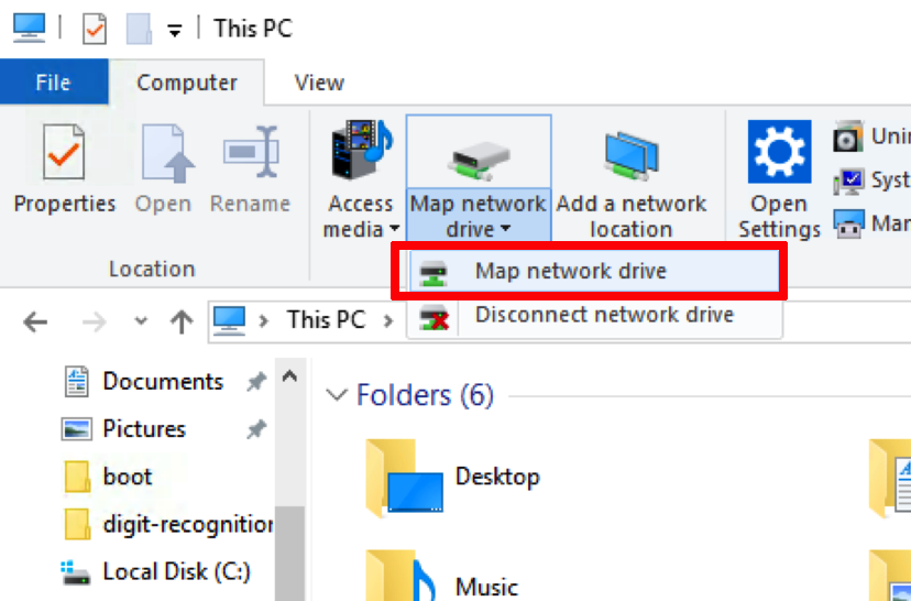Map network drives to Windows VMs on map computer drive, map of college drive, win8 map drive, map airport drive,